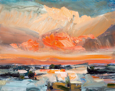 Simon Andrew, 'Sunset and Snow ', 2016