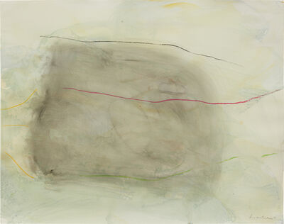 Helen Frankenthaler, 'London Memos', Executed on April 1-1971