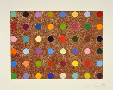 Damien Hirst, 'Proctolin (with Bronze Glitter)', 2008