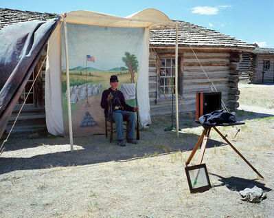 Edie Winograde, 'Fort Caspar Portrait Ed. 10'