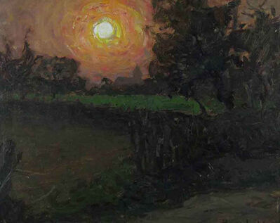Hans Licht, 'Sonnenuntergang ', ca. 1920