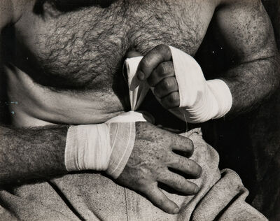 Willard Van Dyke, 'Boxer's Hands', c. 1933-printed later