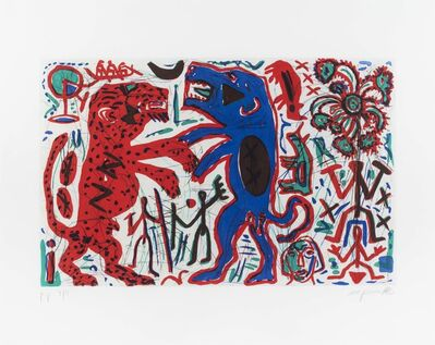 A.R. Penck, 'Untitled', ca. 1975