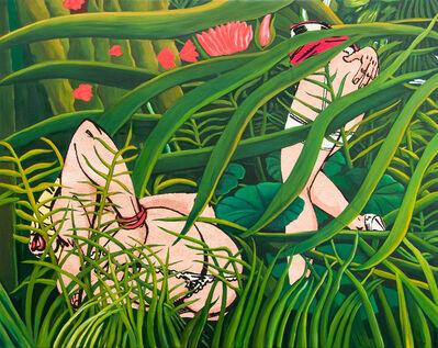 Pamela Joseph, 'Postcard Paintings Rousseau Cinématique, Panel #7', 2008