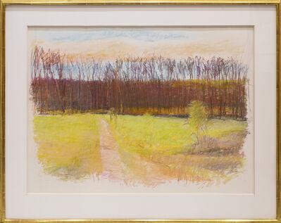 Wolf Kahn, 'Uphill Path - Apple Pie Ridge (VA)', 1989