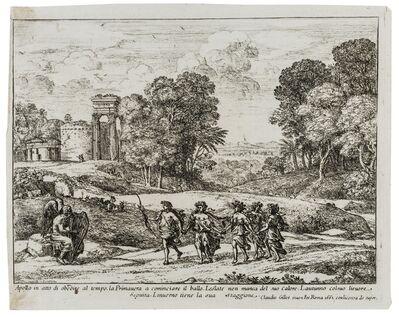 Claude Lorrain, 'Le Temps, Apollon et les Saisons (Time, Apollo and the Seasons)', 1662