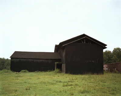 William Christenberry, 'Black Buildings, Newbern, Alabama, 1979', 1979