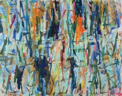 Kikuo Saito, 'Blue Ladder II', 2014
