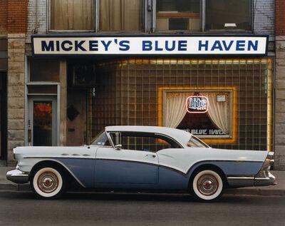 Bruce Wrighton, '1957 Buick Special Riviera Coupe, Mickey's Blue Haven, Johnson City, NY', 1987