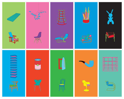 Michael Craig-Martin, 'Art and Design', 2012