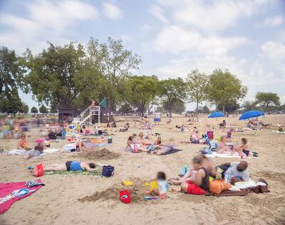 Matthew Pillsbury, 'Edgewater Beach, Cleveland', 2016