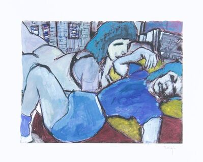 Bob Dylan, 'Bob Dylan Two Sisters Signed Giclee Etching - Contemporary Art', 2008