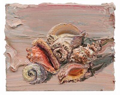 Allison Schulnik, 'Pink Shells #1', 2012