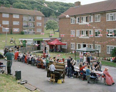 Simon Roberts, 'Diamond Jubilee Celebration, Craven Vale Estate, Brighton, East Sussex, 2 June 2012', 2012