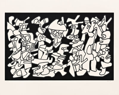 Jean Dubuffet, 'Evocations', 1976