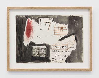 Mladen Stilinovic, 'Toliko toga / So much', 1973