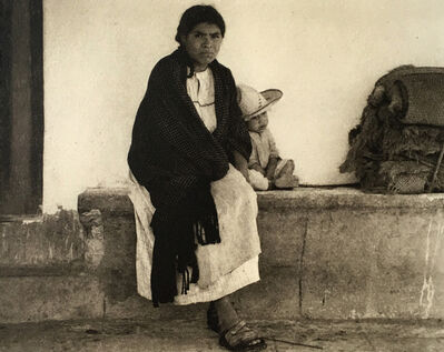 Paul Strand, 'Woman and Boy // Tenancingo', 1933