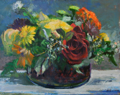 Donald Beal, 'Flowers on Table', 2017