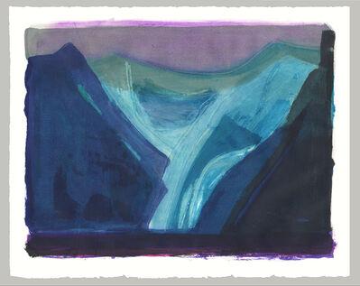 Barbara Rae, 'Glacier', 2020