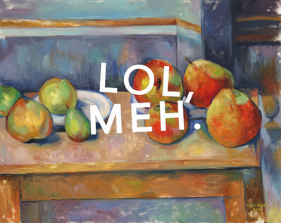 Shawn Huckins, 'Still-Life With Apples and Pears: Laughing Out Loud, Meh.', 2019