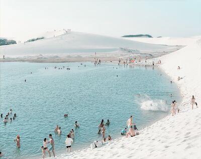 Massimo Vitali, '# 4661 Lençois Laguna do Peixe Splash', 2013