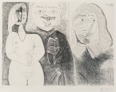 Pablo Picasso, 'Pl. 132, from La Series 156', 1971