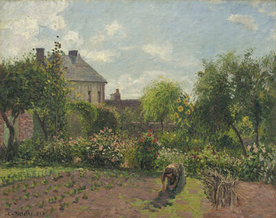 Camille Pissarro, 'The Artist's Garden at Eragny', 1898