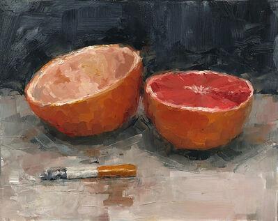 Tom Giesler, 'Health Study 7: grapefruit cigarette', 2020