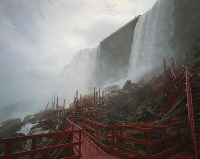 Edie Winograde, 'Niagara Falls, stairs', 2010-2018