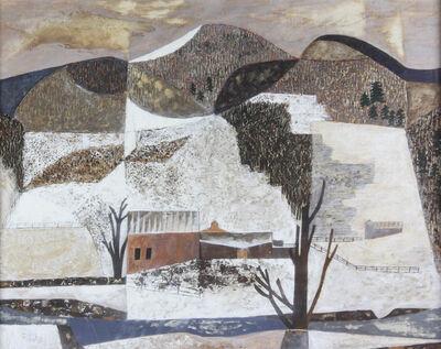 John Atherton, 'Landscape in Winter', 1950