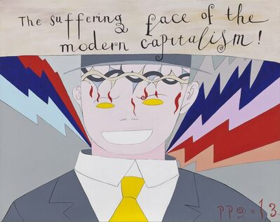 Pavel Pepperstein, 'The Suffering face of the modern capitalism', 2013