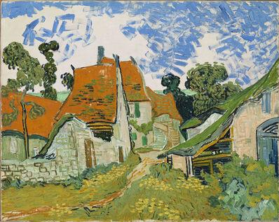 Vincent van Gogh, 'Street in Auvers-sur-Oise ', 1890