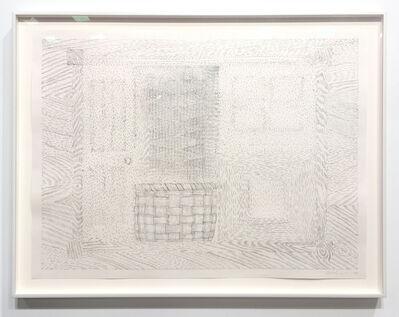 Richard Artschwager, 'Door Window Table Basket Mirror Rug #34', 1974