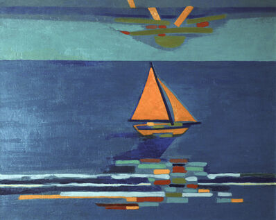 Françoise Gilot, 'Late Afternoon Breeze', 1988