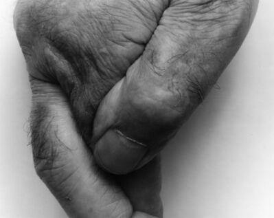 John Coplans, 'Thumb and Fingers, No. 1', 1999