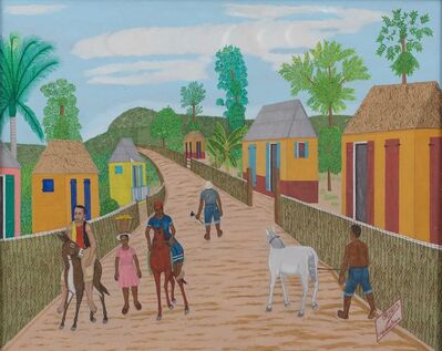 Philomé Obin, 'Sur la route de Carrefour des Peres', 1975-1980