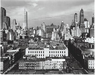 Brett Weston, 'Midtown, New York', 1943