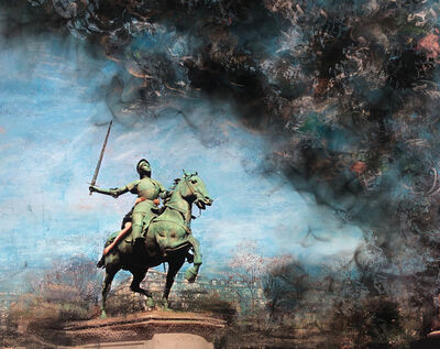 Liane Lang, 'Fighting Fire (Jeanne D'Arc at St Augustin)', 2020