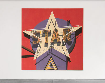Robert Cottingham, 'Electra Star', 2009