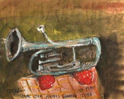 James Martin, 'Thank You Always Wanted to Play Tuba', 2013