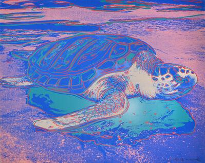 Andy Warhol, 'Andy Warhol, Turtle, Screenprint, 1985', 1985