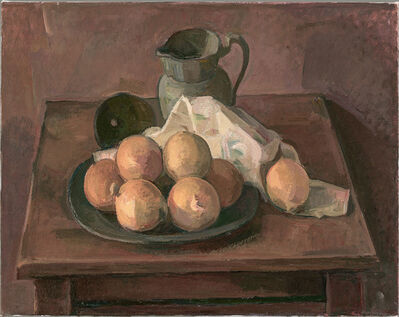 Wilbur Niewald, 'Stil Life with Onions and Pewter Pitcher', 2011