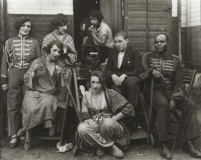 August Sander, 'Circus Artists', 1926-1932