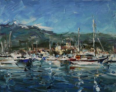 Lyudmila Agrich, 'Busy Harbor', 2018