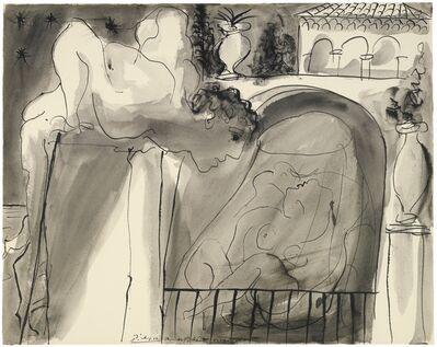 Pablo Picasso, 'Le Voyeur', 1 August 1933