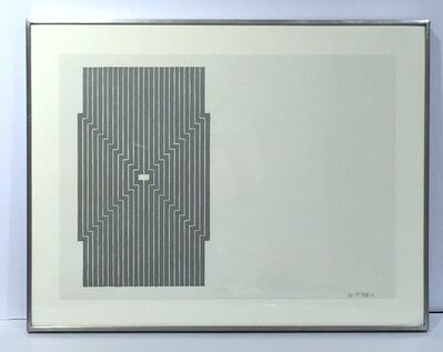 Frank Stella, 'Six Miles Bottom, from Aluminum Series', 1970