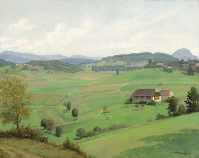 Karl Maria Schuster, 'Krumpendorf', 1938