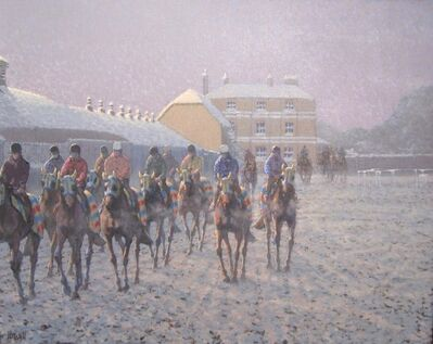 Peter Howell, 'Wroughton Stables (with Cadlands and Osbourne House) Newmarket, Heath', Contemporary