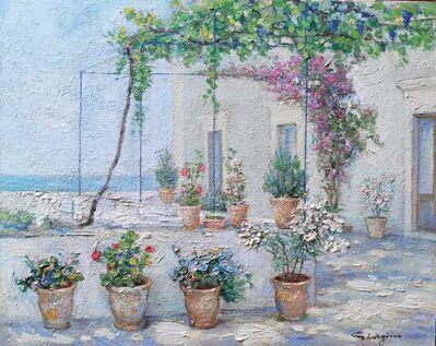 Gaetano Giorgino, 'Terrazza in fiore', ca. 1940