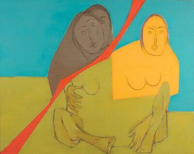 Tyeb Mehta, 'Diagonal Series', 1972